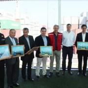 Recalada de nave Maersk Stepnica en ITI da inicio a ruta directa a puertos de Asia