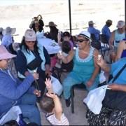 Al estilo pampino pampino celebraron el Día del Patrimonio Cultural en la comuna de Huara