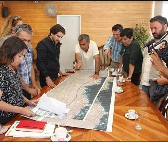 Diputado del Frente Amplio, tras reunirse con alcalde Soria interesado en sistema de autoconstrucción y cooperativas de viviendas
