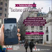 """Postulaciones para que jóvenes se conviertan en """"Gestores del Patrimonio"""", cierra el 8 de julio"""