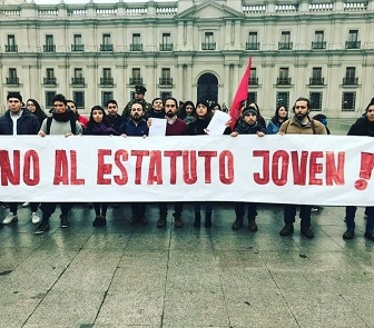 Juventudes políticas y sociales llaman a Senadores de Tarapacá, a no aprobar el estatuto Laboral para jóvenes, que ya apoyaron los diputados