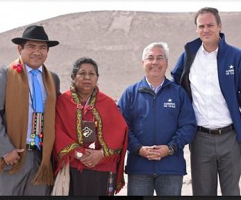 Comprometen protección para el Gigante de Tarapacá, patrimonio histórico y cultural