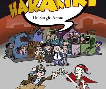 "Este sábado Teatro Universitario Expresión presenta nuevamente la obra ""Harakiri"", del dramaturgo chileno Sergio Arrau"