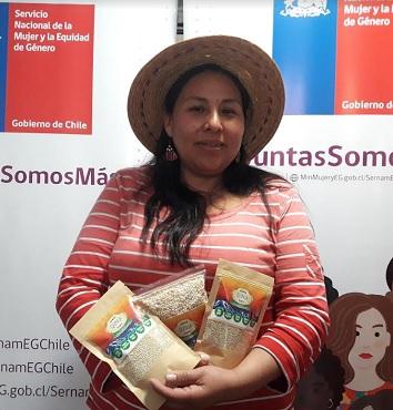 Artesana textil y agricultora aymaras representarán a Tarapacá Expo Feria Mujeres Emprendedoras Indígenas 2018