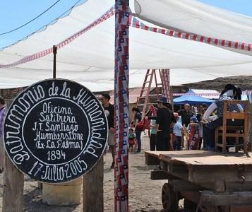 Salitrera Humberstone será el centro para celebrar las Fiestas Patrias a la usanza pampina