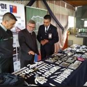 Fiscalía y PDI detienen a gendarme y sufamilia por tráfico de drogas en la cárcel