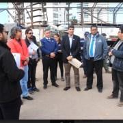 Inspeccionan lugares donde funcionarán ramadas en Iquique y Alto Hospicio. Fiscalización final será la próxima semana