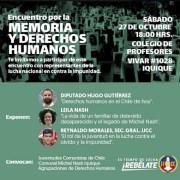 Legado de Michel Nash, DDHH en el Chile de hoy y el rol de la juventud serán ejes temáticos de jornada Por la Memoria y los Derechos Humanos