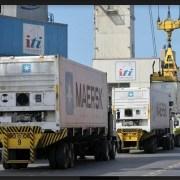 Primera exportación de carne boliviana se realizó a través de la ITI, diversificando las cargas provenientes de ese país