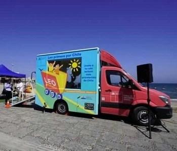 Intensa jornada del programa «Leo Primero por Chile» desarrollará la biblioteca móvil que recorre el país