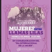 """Este 8 de marzo se presenta obra de teatro """"Mujeres entre llamas lilas"""", en el Centro Cultural de Alto Hospicio"""