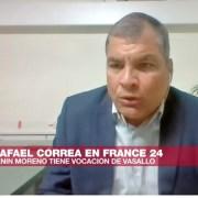 La entrevista: Rafael Correa habla con France 24 sobre la captura de Julian Assange