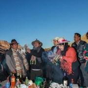 Comunidades de Huara se unieron para celebrar con sus rituales propios, el Día de la Madre Tierra