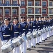 Brillante competencia de bandas escolares en el marco de los festejos por el 21 de Mayo