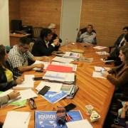 Alcalde Mauricio Soria expuso a estudiantes de postgrado, proyecto integracionista del municipio, que se desarrolla hace más de 50 años