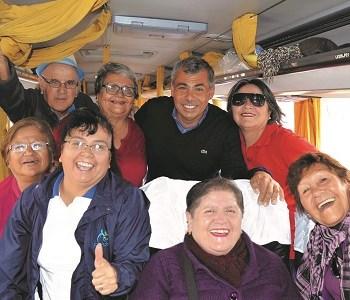 En un túnel del tiempo se transformará el Paseo Baquedano, para celebrar el Día Mundial del Buen Trato al Adulto Mayor