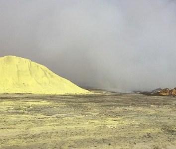 Periodista iquiqueño se pronunció en el 2015 sobre riesgo de la azufrera para la vida humana y animal