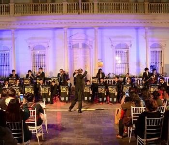 Cormudesi Big Band realizó maravillosa presentación antes de iniciar gira a Europa
