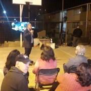 Durante Marcha Exploratoria Comunitaria, alcalde Soria anunció instalación de 8 nuevas cámaras de televigilancia