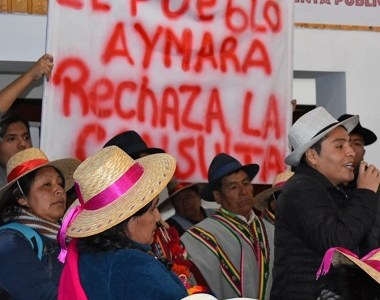 Desde los 4 mil metros de altura y con una masiva participación, Colchane hace sentir un fuerte NO y rechaza la Consulta Indígena impulsada por el Gobierno.