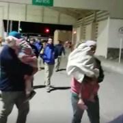 Unos 20 venezolanos, incluidas mujeres embarazadas y niños pequeños, obligados a devolverse a pie a Bolivia con un frío extremo de -5 grados. INDH presentó Amparo