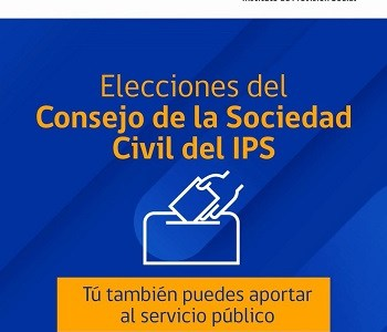 Hasta el viernes 12 de julio tienen se reciben inscripción de candidaturas para el Consejo de la Sociedad Civil del IPS