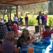Unos 200 adultos mayores de Pozo Almonte disfrutaron de la festividad religiosa de San Lorenzo