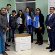 Alumnos del Centro de Formación Técnica, CFT Estatal, crearon voluntariado para impulsar acciones y campañas solidarias