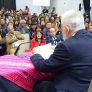 Con clase magistral sobre los derechos indígenas y campesinos, se inauguró Congreso Internacional sobre esa temática