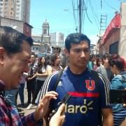 """Dirigente Universitario al quedar libre: """"No porque nos hayan arrestado, dos o tres veces, van a impedir que sigamos saliendo a la calle. Ni porque me mantengan con medidas cautelares""""."""