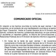 """Ejército lamenta lesión a reportero gráfico: """"Se le entregó el auxilio verbal correspondiente"""""""
