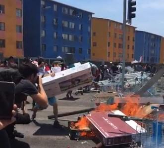 No se entiende que se reprima a la manifestación pacífica y que no haya presencia policial en saqueos