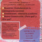 """En el contexto de una nueva Constitución para Chile, convocan a estudiantes de enseñanza media al conversatorio: """"Juventud, Ciudadanía y Reflexión Cívica"""""""
