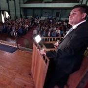 El teatro de Salitrera Humberstone fue el lugar escogido para que el CORE Tarapacá presentara su cuenta de gestión