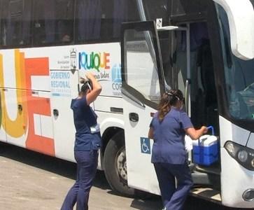 En cuarentena 38 adultos mayores que regresaban de visitar lugares con brote de Covid 29. Un pasajero presentó fiebre