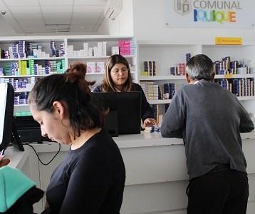 Más de 40 mil personas inscritas en la farmacia comunal de Iquique, que acceden a medicamente a un costo mucho menor que el de mercado