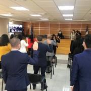 En un hecho sin precedentes 22 nuevos abogados de Iquique, juraron mediante videoconferencia con la Corte Suprema, desde Corte de Iquique