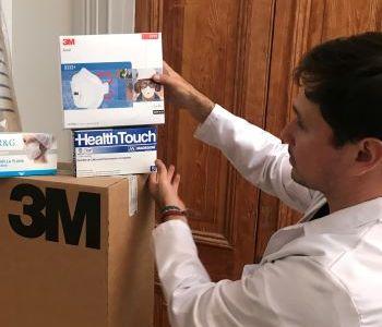 Más de 333 mi Elementos de Protección Personal distribuyó el Servicio de Salud, a todos los establecimientos de la red asistencial