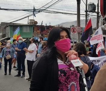 """Presidenta de la CUT: """"No entendemos la burbuja en la que vive Piñera tratando de imponer una normalidad que no existe"""""""