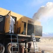 Siete localidades de Colchane sin energía: Desperfecto en sistema de enfriamiento del generadormantiene a los pobladores sin electricidad