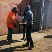 En medio de emergencia sanitaria empresa de reciclaje entregó aporte a recicladores base