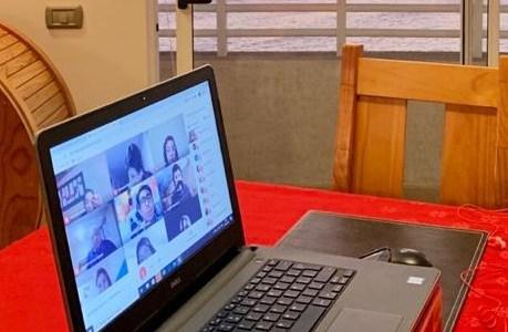 Actores sociales dialogan sobre prevención de consumo de drogas y alcohol mediante plataforma online