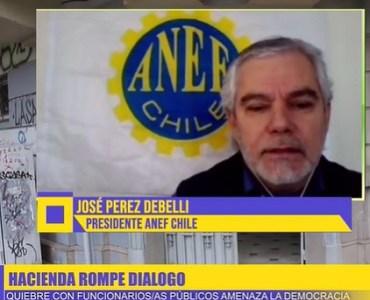 Insólito. Ministro de Hacienda amenaza a Presidente Nacional de la ANEF por teléfono y cierra las puertas al diálogo