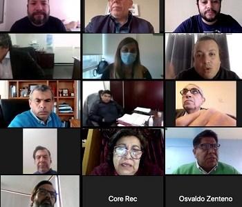 Buscar soluciones y enfrentar impactos negativos de la pandemia, orientó encuentro entre CORE y alcaldes de Tarapacá