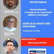 Sector público se suman a diálogo regional para la descentralización, convocado por Chile Descentralizado