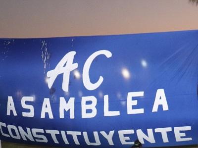 Colectivos de oposición piden que se consigne opción Asamblea Constituyen en plebiscito de octubre
