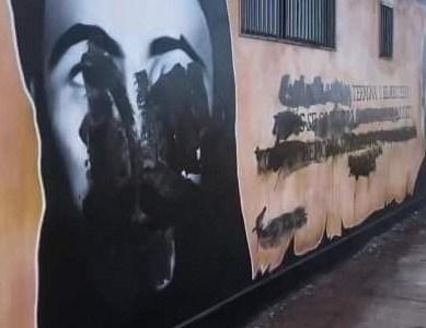 Presentan denuncia criminal ante la Fiscalía de Iquique, por daños a mural en memoria de Freddy Taberna