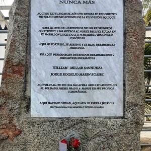 Socialistas de Tarapacá conmemoraron los 47 años del golpe, con visitas a memoriales y ceremonia virtual