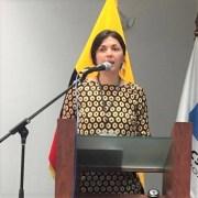 """Académica Romina Ramos: """"Si el señor Paiva sabe de ´manos negras´ en el flujo de personas, debe hacer la denuncia al Ministerio Público""""."""