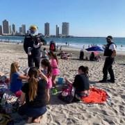 Intensifica fiscalizaciones en el borde costero y promueven medidas de autocuidado para evitar nuevos contagios